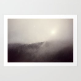Explorations with Space: No. 5 Art Print