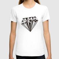 diamond T-shirts featuring Diamond by Galitt