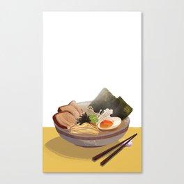 Tonkotsu Ramen Canvas Print