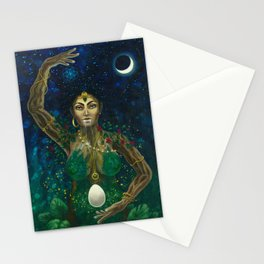 The Earth Mother Goddess of Life Stationery Cards