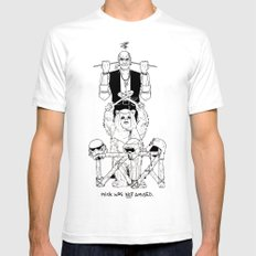 Mick was NOT amused (#8). Mens Fitted Tee SMALL White