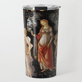 La Primavera - Allegory Of Spring - Sandro Botticelli Travel Mug