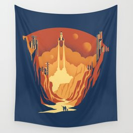 New World Wall Tapestry