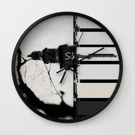 Marking The Artwork Wall Clock