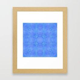 Brian's Bubbliscious Pattern (Deep Sea) Framed Art Print