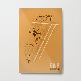 EWR Metal Print