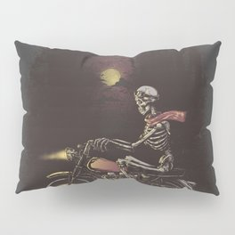 Death Rides in the Night Pillow Sham