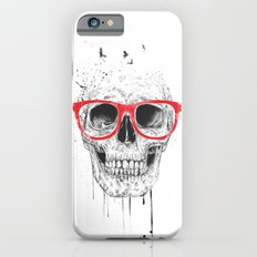 Skull with red glasses Slim Case iPhone 6s