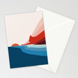 Cat Landscape 6: First Dawn Stationery Cards