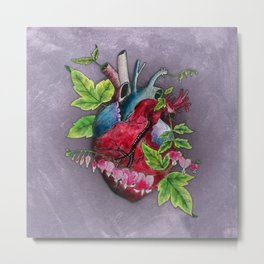 Open Hearted Metal Print