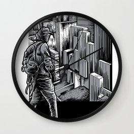 Parkour Urban City Shirt Freerunning Traceur Gift Wall Clock