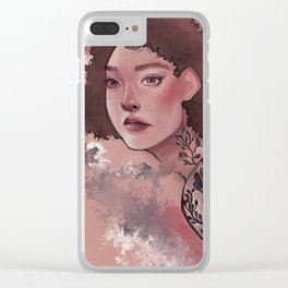Paint Clear iPhone Case
