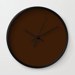 Engine of the Band ~ Dark Chocolate Wall Clock
