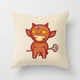 Teh An+ichri5t Throw Pillow