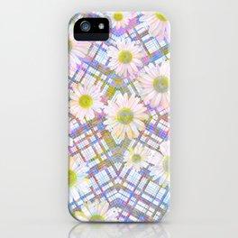 Daisy Plaid iPhone Case
