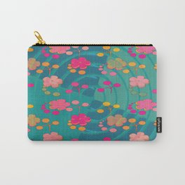 Retro Abstract Pattern Design - 01 Carry-All Pouch