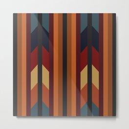 American Native Pattern No. 168 Metal Print