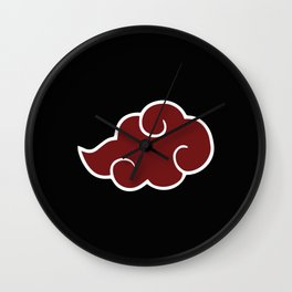 Akatsuki Cloud Wall Clock