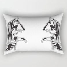 The knight - Emilie Record Rectangular Pillow