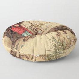 Little Red Riding Hood Warwick Gobel Floor Pillow