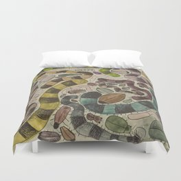 creepy crawlies Duvet Cover