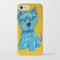 westie iPhone & iPod Cases featuring Westie dog by K.ForstnerArt
