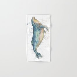 Blue Whale Hand & Bath Towel