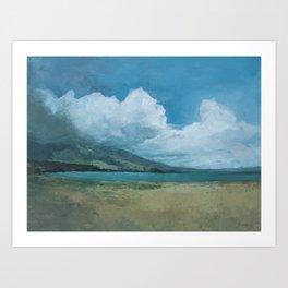 Ideal Beach Art Print