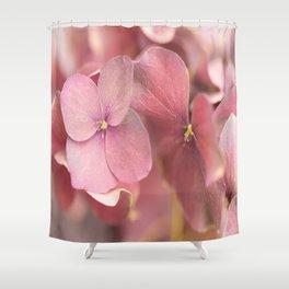 Hortensia Flower Pink Hydrangea #decor #society6 Shower Curtain