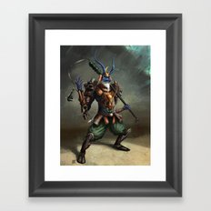 Oni Framed Art Print