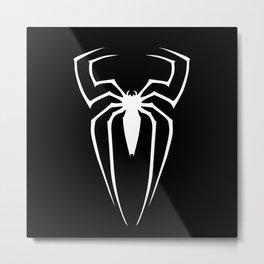 Spider Dark Metal Print