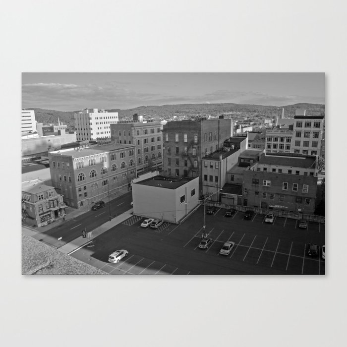 Model City Canvas Print