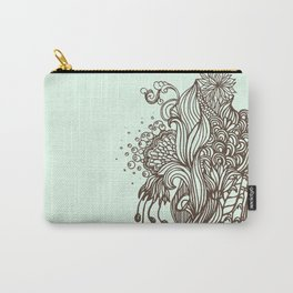 Mint Chocolatey  Carry-All Pouch