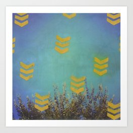 Above the Trees Art Print