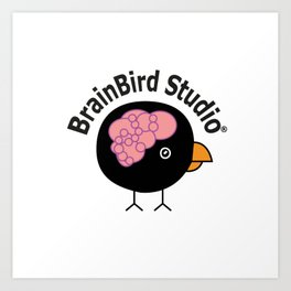 BrainBird Studio customized Art Print