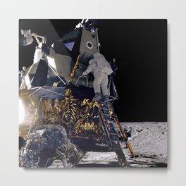415. Alan Bean Descends Intrepid Metal Print