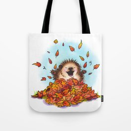 Fall Hedgie 2 Tote Bag