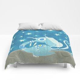 Blue Dragonie Comforters