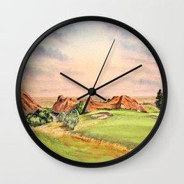 Arrowhead Golf Course Colorado Wall Clock
