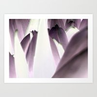 tulip Art Prints featuring tulip by habish