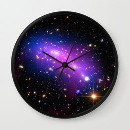 Colliding Galaxies Wall Clock