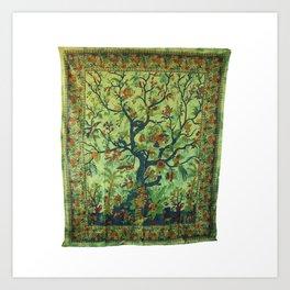 Tree of LIfe Tapestries Wall Hanging Art Print