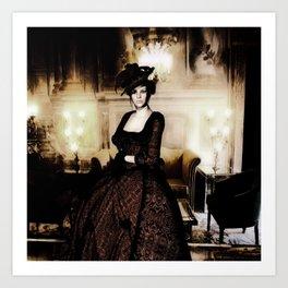 Lady Londistan Art Print