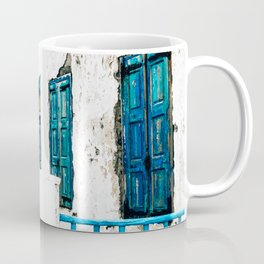 Out of the Blue | Mykonos, Greece Coffee Mug
