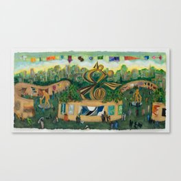 Art in the Park    Canvas Print
