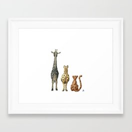 Be Wildly Different Framed Art Print