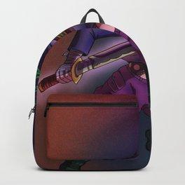 Samurai girl-punk Backpack