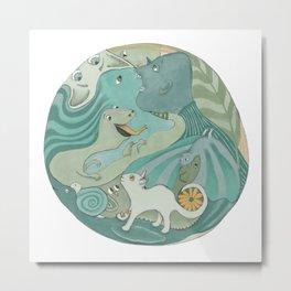 Planet Earth 1 Metal Print