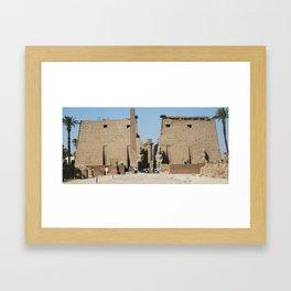 Temple of Luxor, no. 12 Framed Art Print