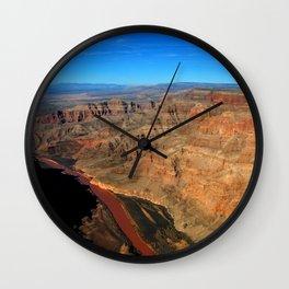 Colorado River Grand Canyon Arizona United States of America Wall Clock